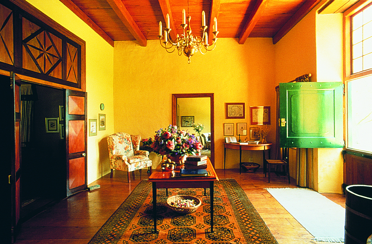 Roggeland Country House, South Africa, Entrance