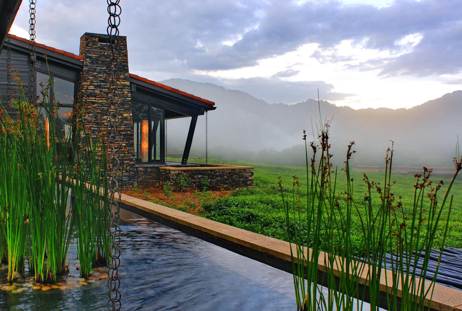 Nyungwe Forest Lodge Rwanda Pool