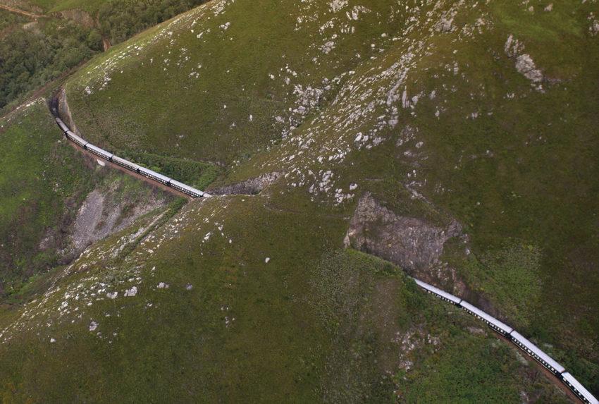 South Africa, Rovos Rail, Aerial