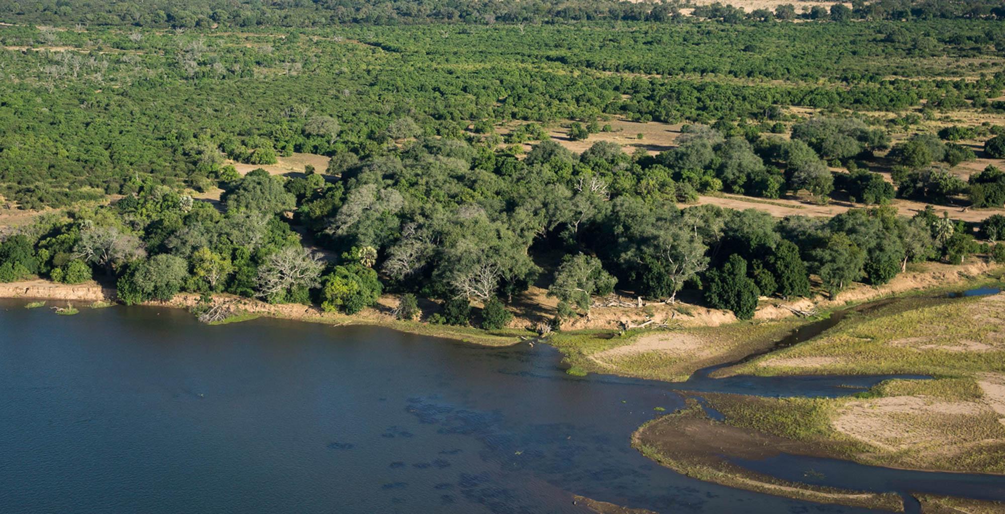 Zimbabwe-Mana-Pools-Aerial