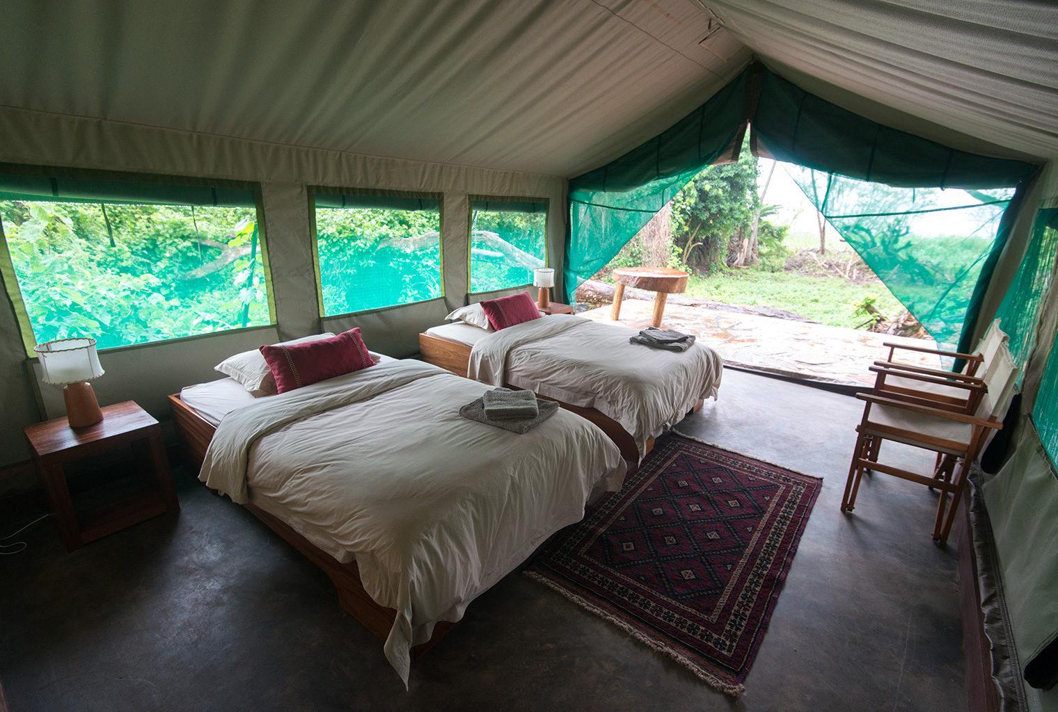 Rwanda-Ruzizi-Tented-Camp-Beds