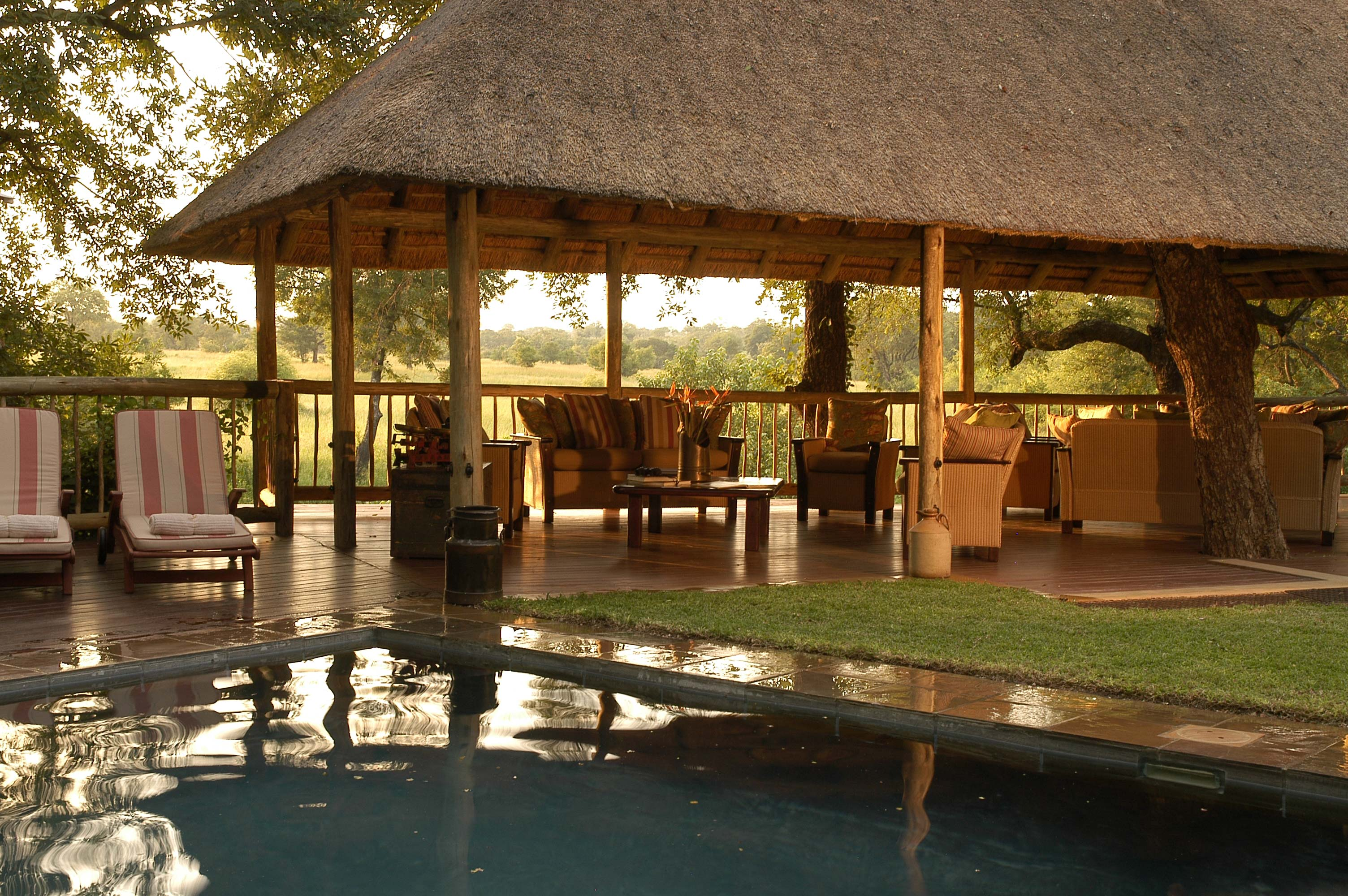 Sabi Sabi South Africa Pool Deck