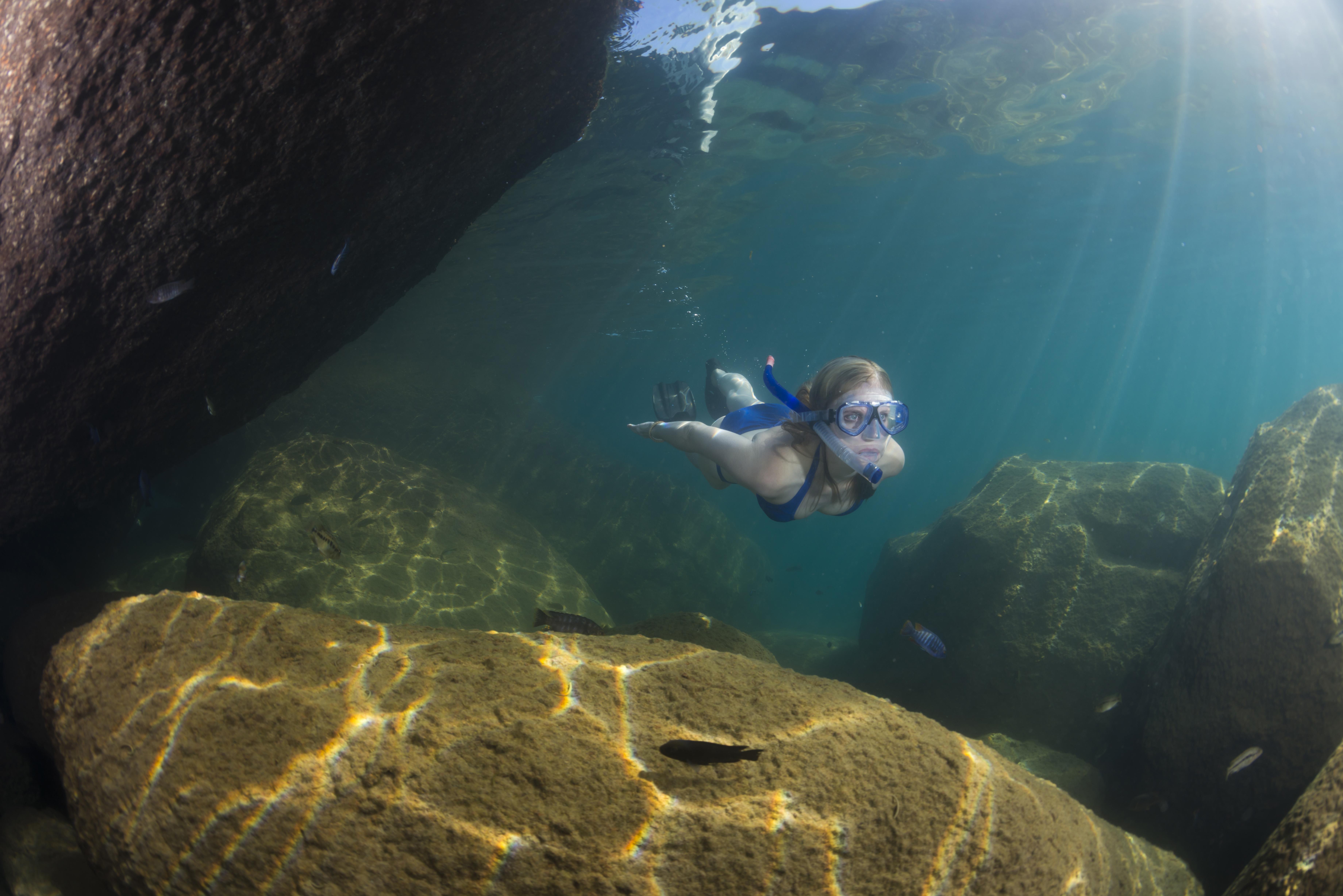 Mumbo Island Lodge Kenya External Snorkelling