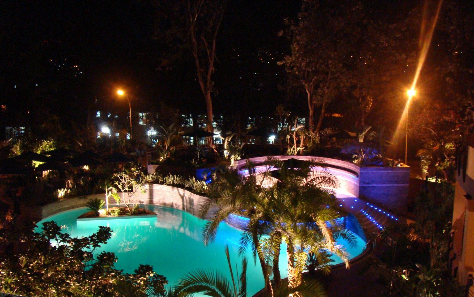 Kigali Serena Rwanda Pool Night