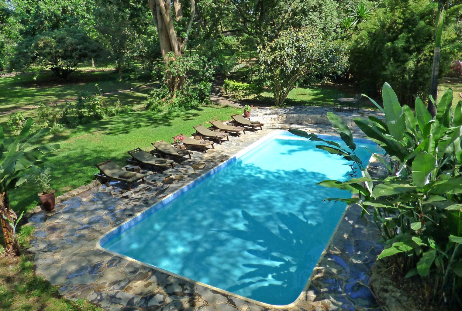 Swimming pool Rivertrees Tanzania