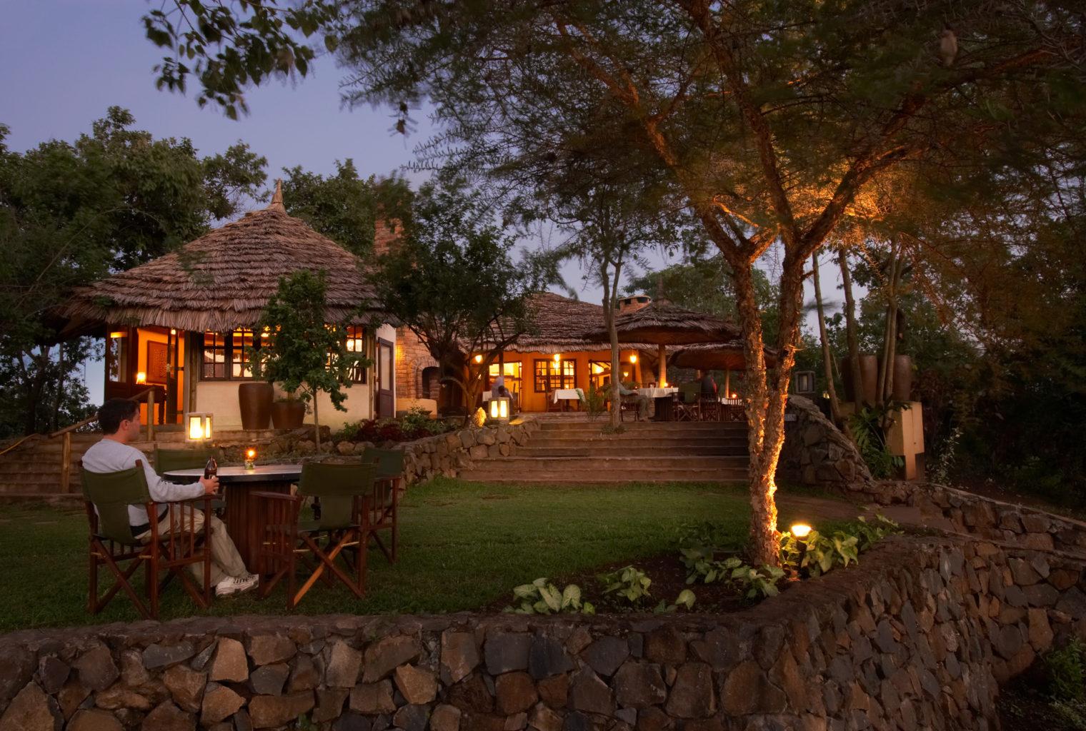 Kigongoni Lodge Tanzania Terrace