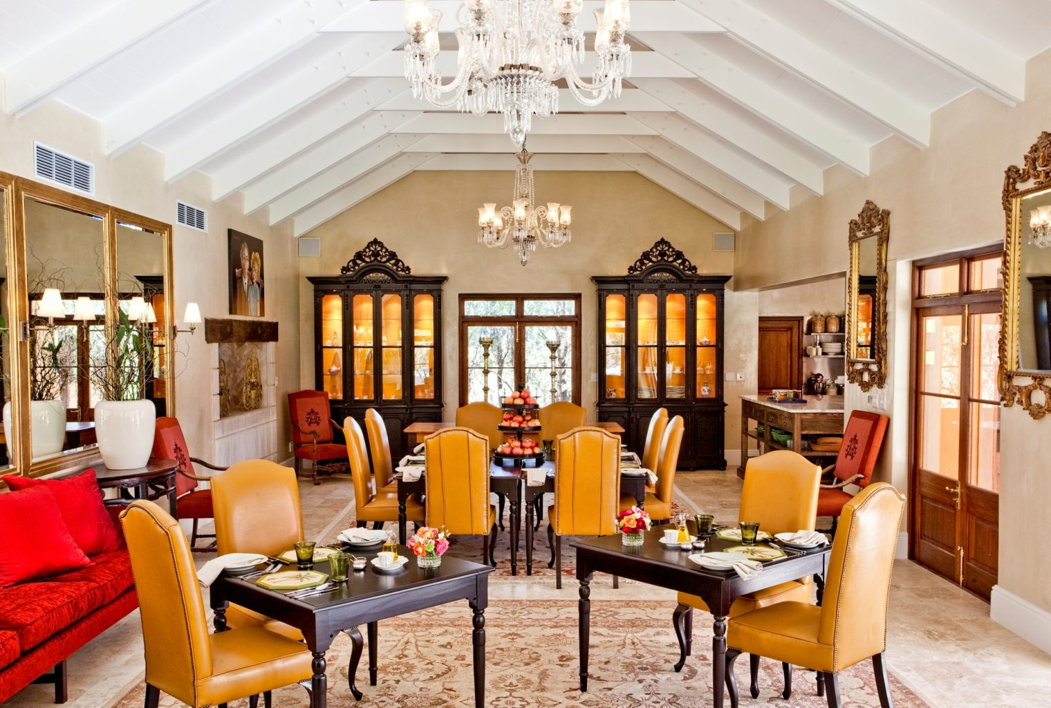 Terrace Room Interior, La Residence, South Africa