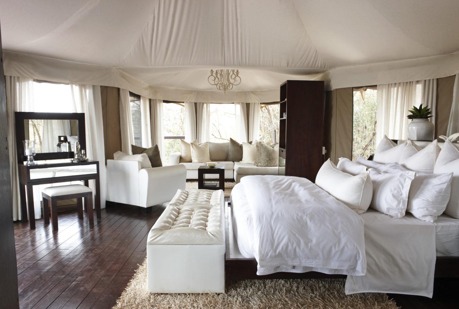 Thanda Tented Camp - honeymoon tent 2