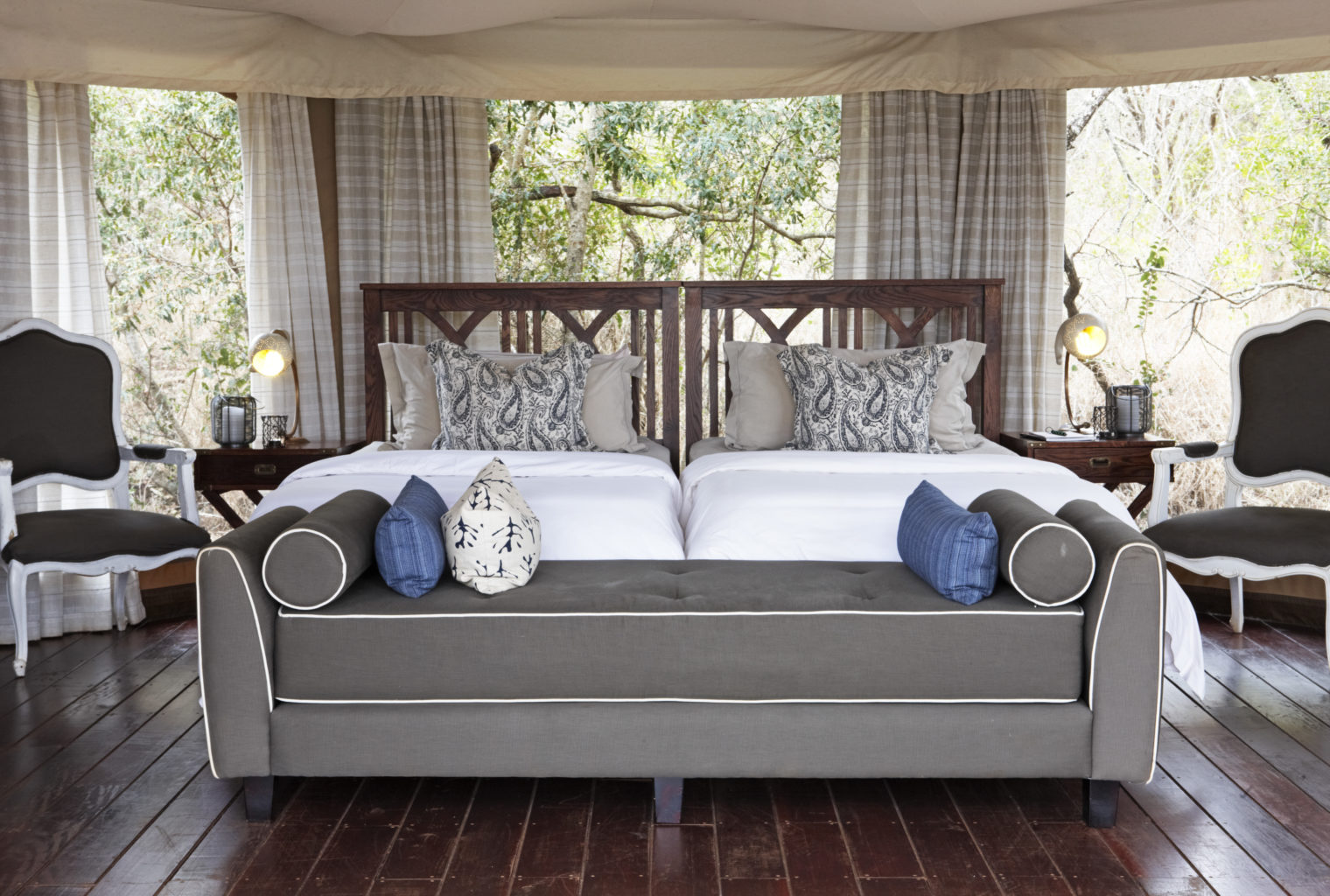 Thanda Tented Camp - tented suite