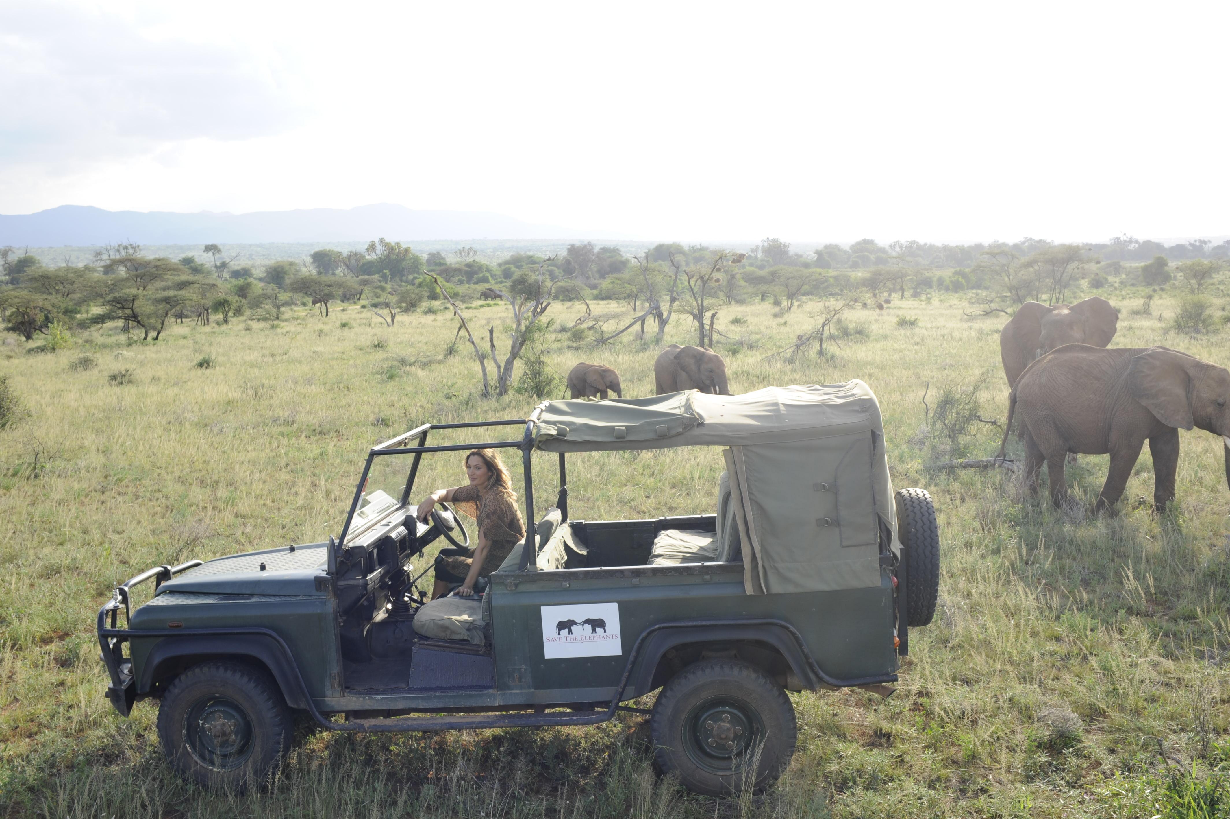 Elephant Watch Camp Kenya Game Drive