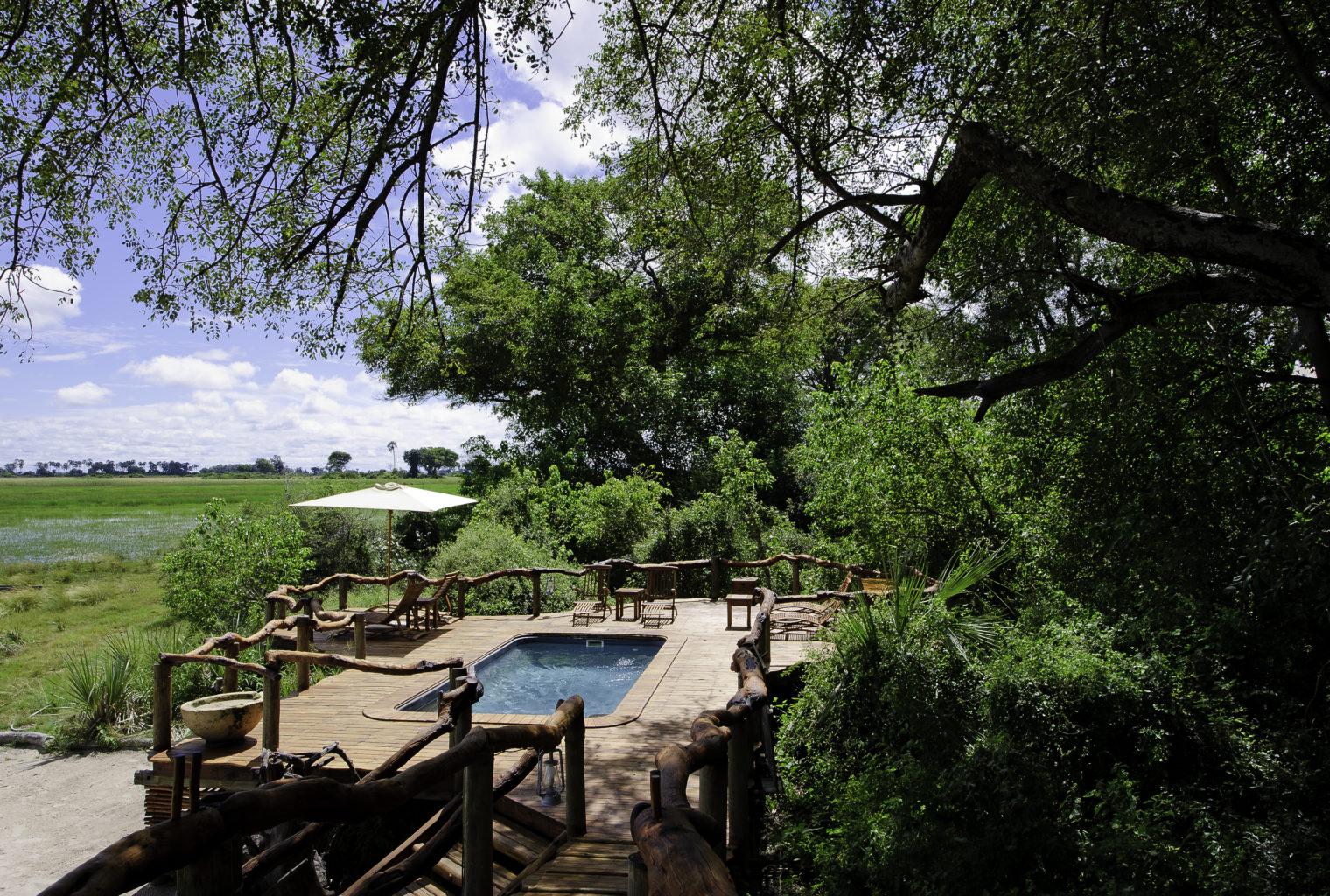 Botswana Tubu Tree Camp Pool