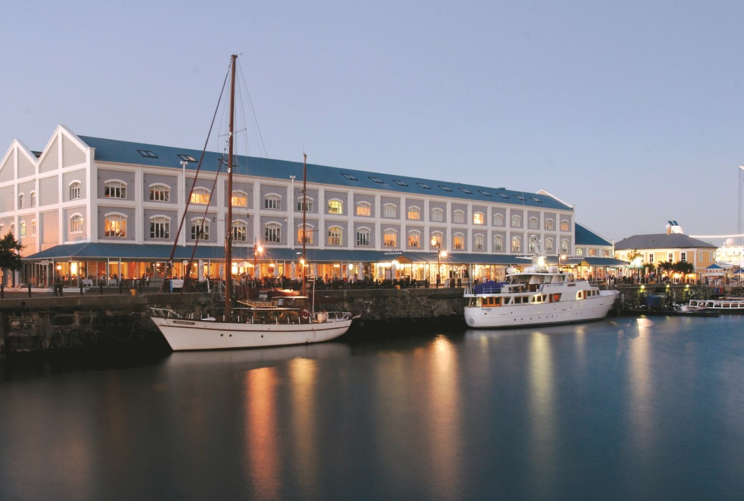 Victoria and Alfred Hotel South Africa Location