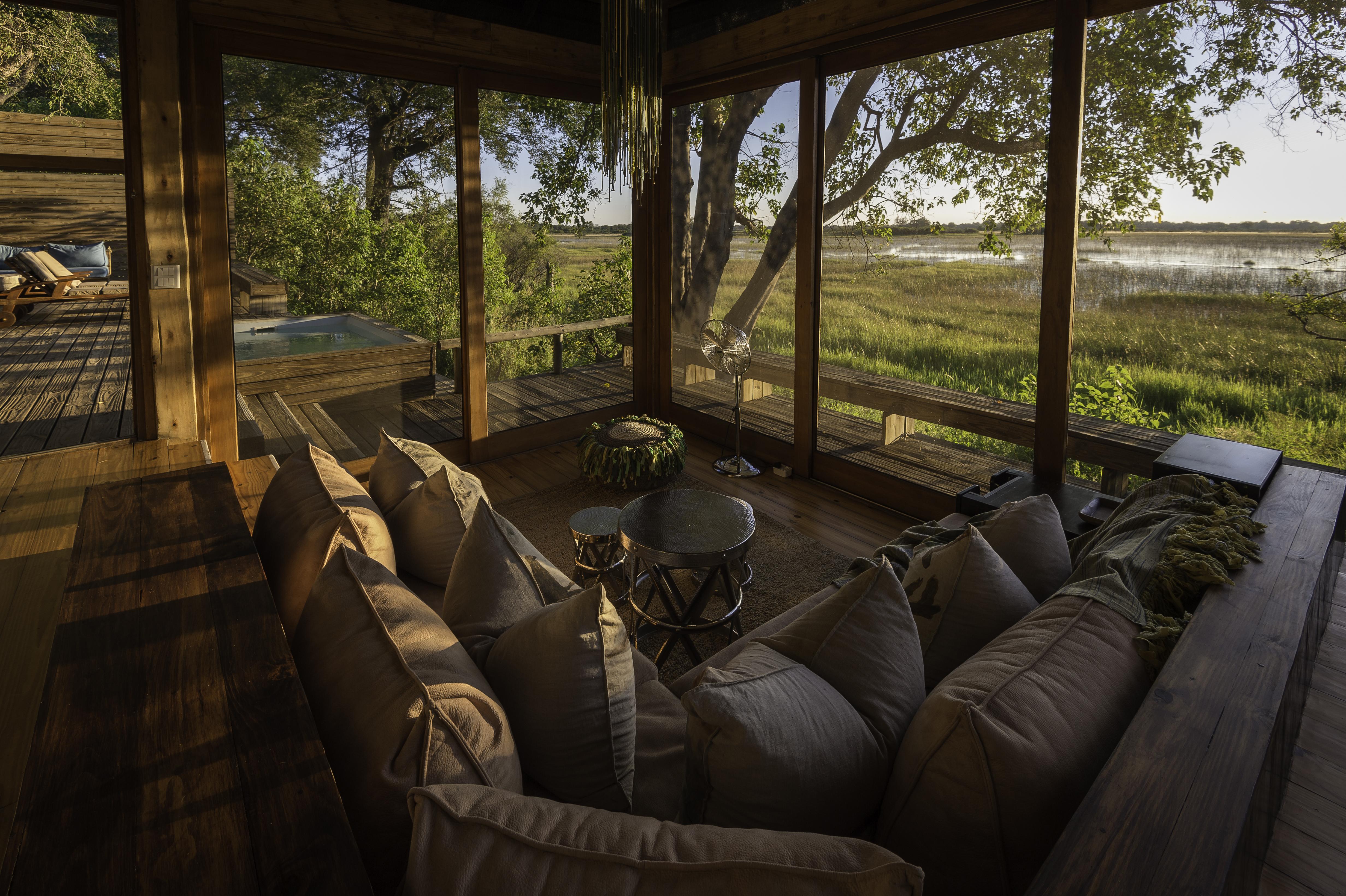 Vumbura_Plains_Camp-Botswana Sofa