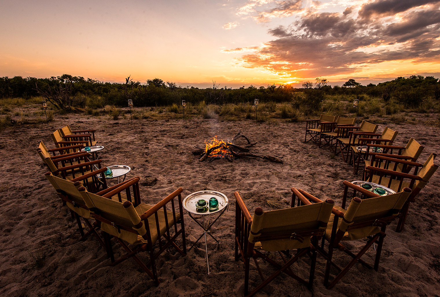 Vumbura_Plains_Camp-Botswana Firepit