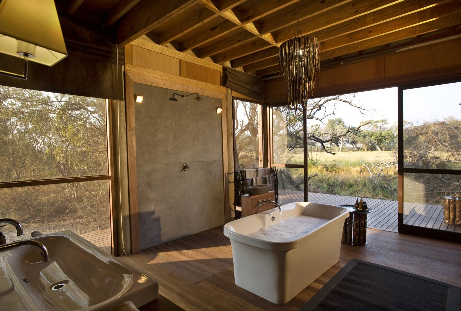 Xudum Okavengo Delta Lodge Botswana Bathroom