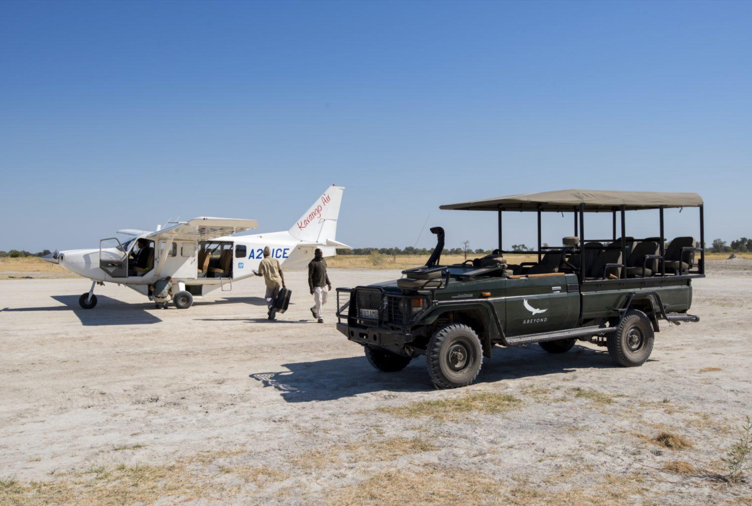 &Beyond, Xaranna, Okavango Delta, Camp, Arrival