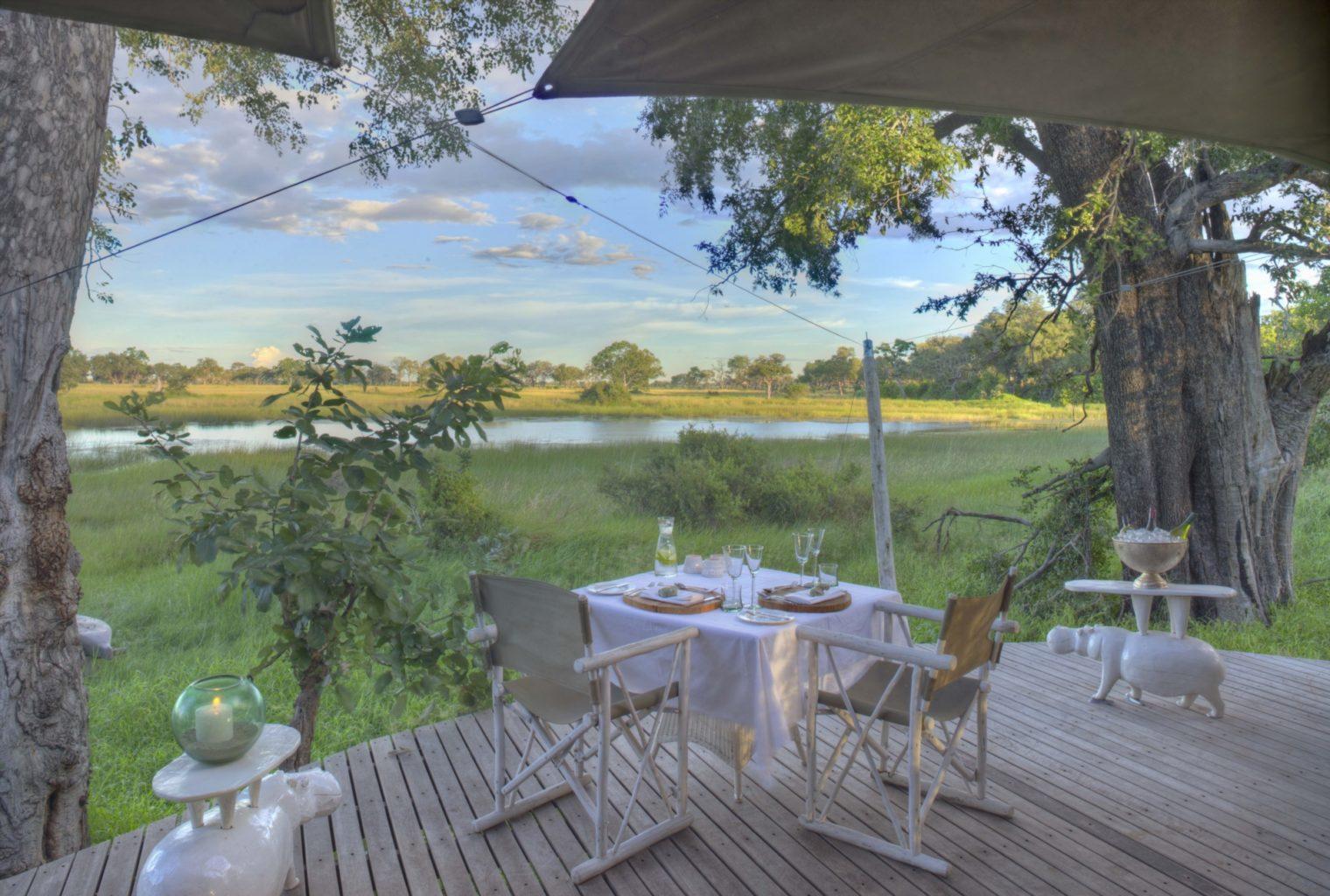 &Beyond, Xaranna, Okavango Delta, Camp, Guest Area Deck