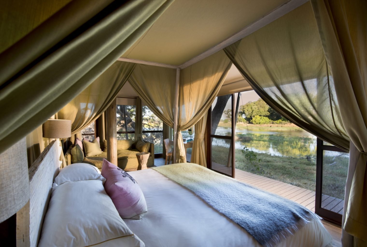 &Beyond, Xaranna, Okavango Delta, Camp, Bedroom