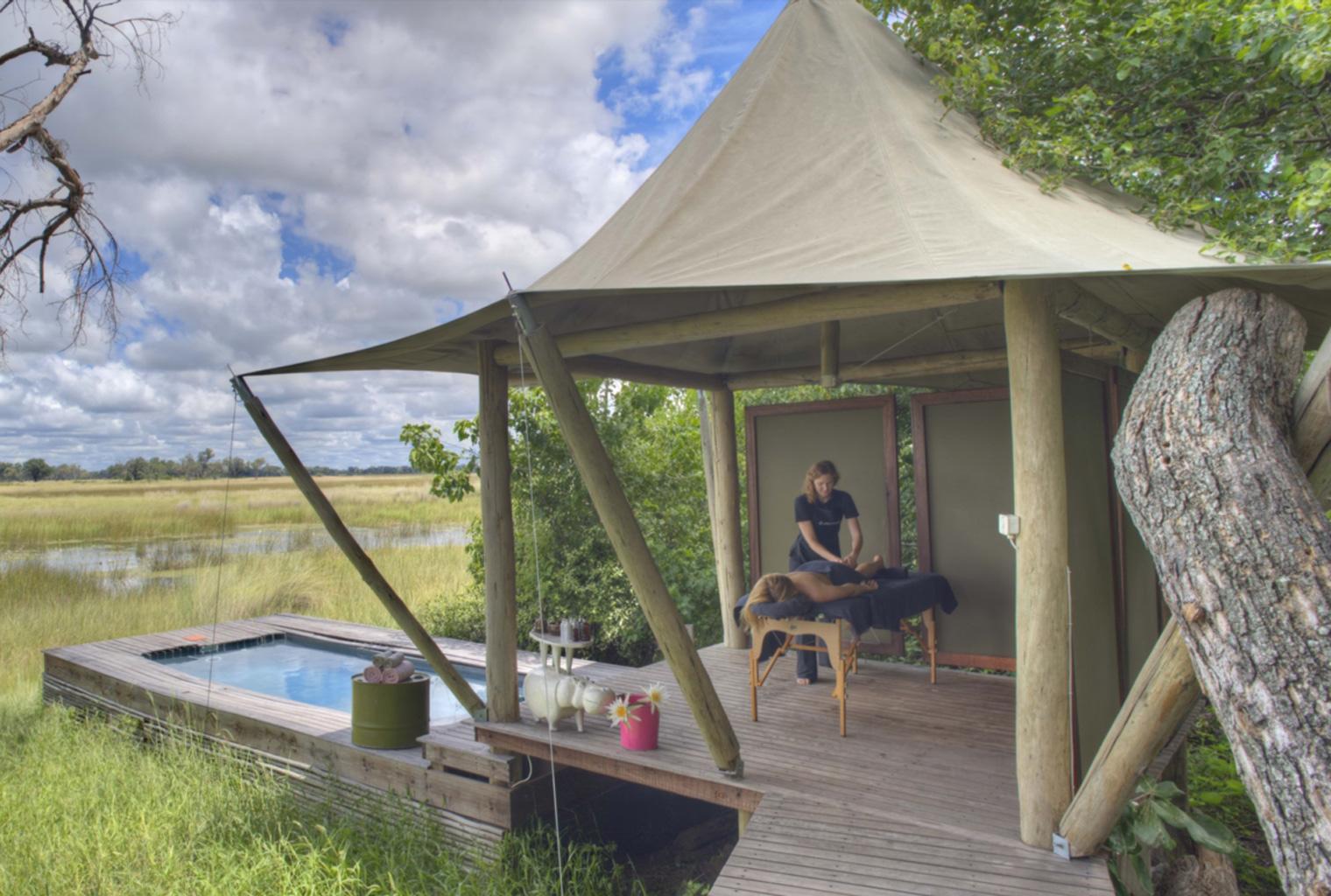 &Beyond, Xaranna, Okavango Delta, Camp, Massage