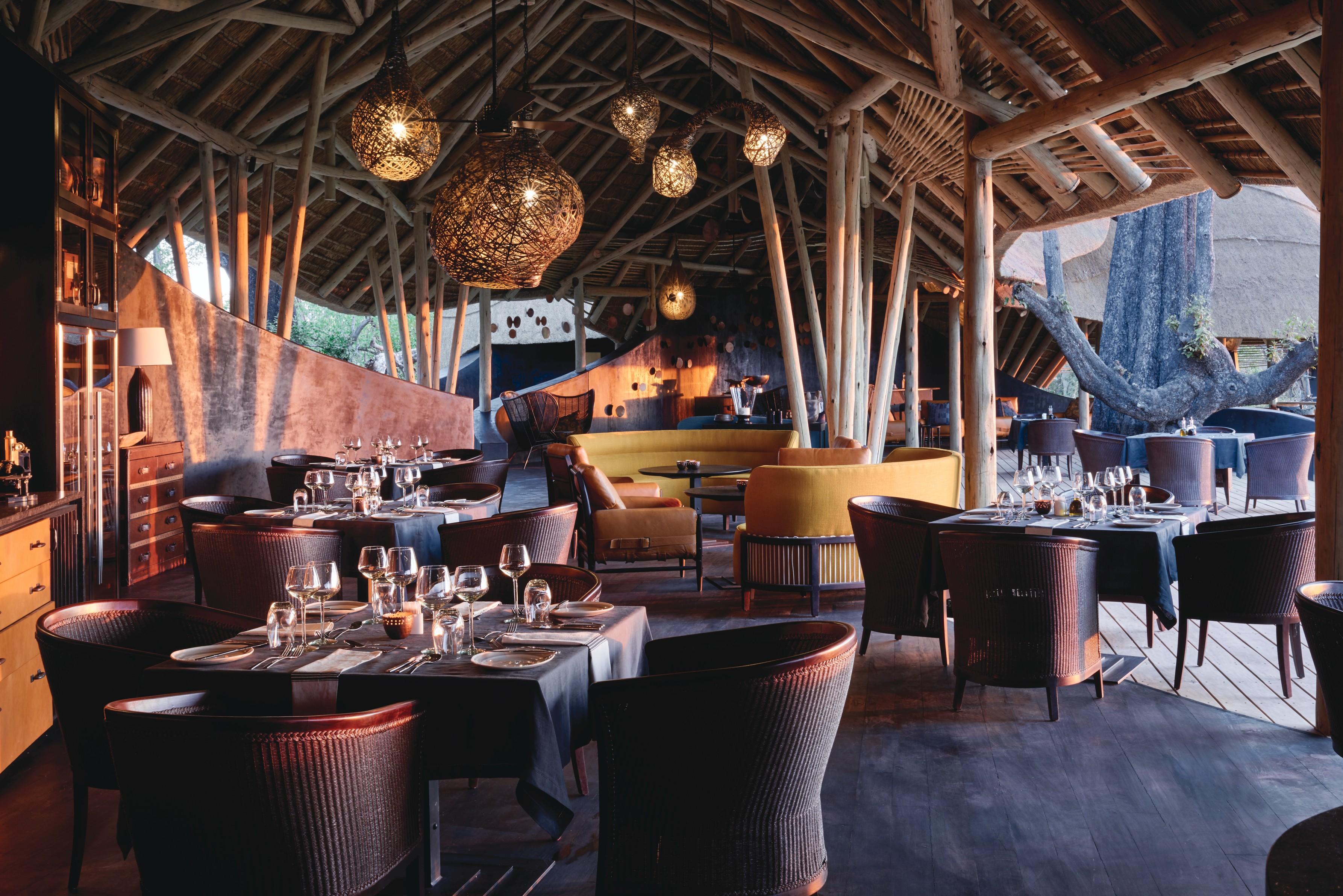 Eagle Island Camp Botswana Lounge
