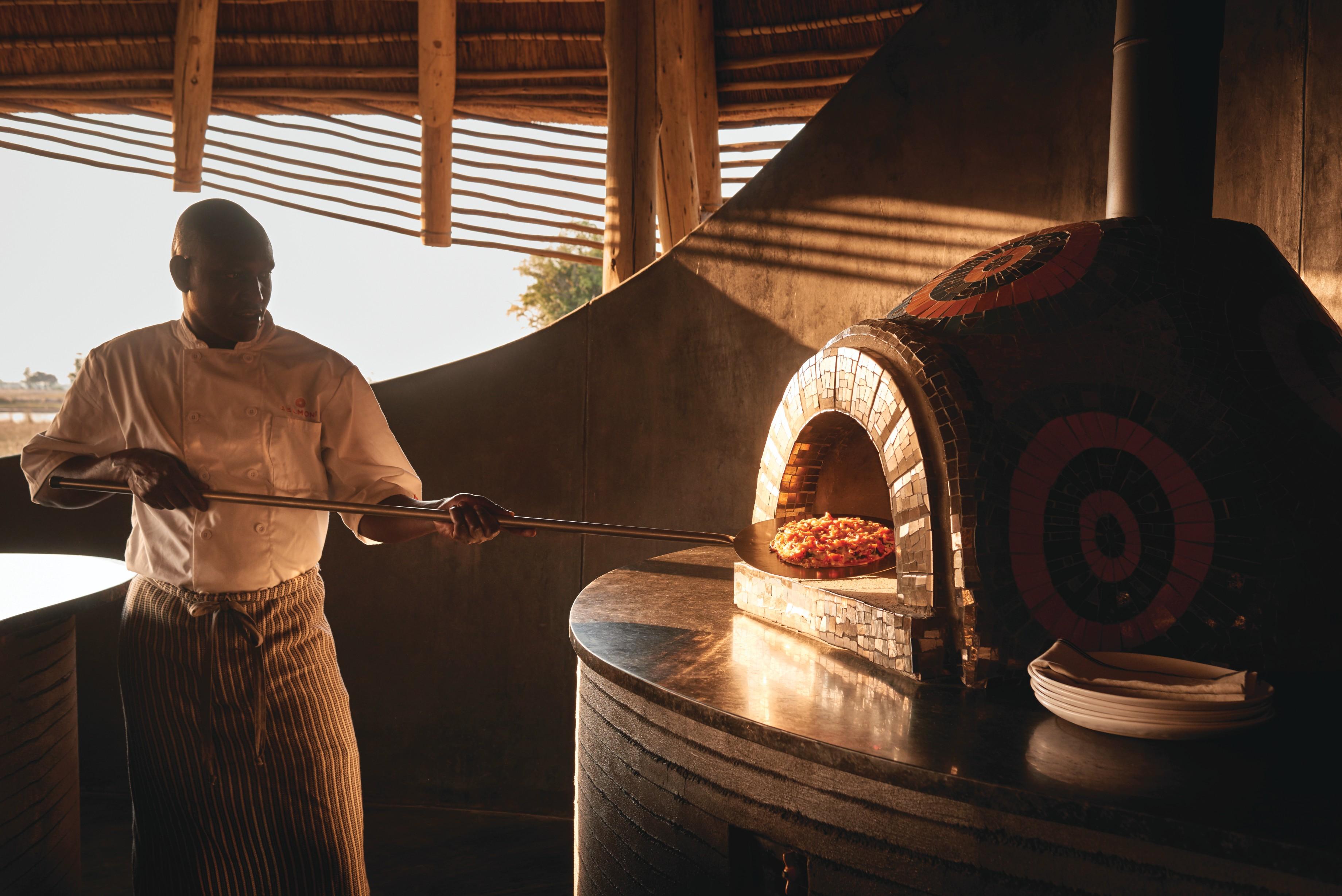 Eagle Island Camp Botswana Pizza Oven