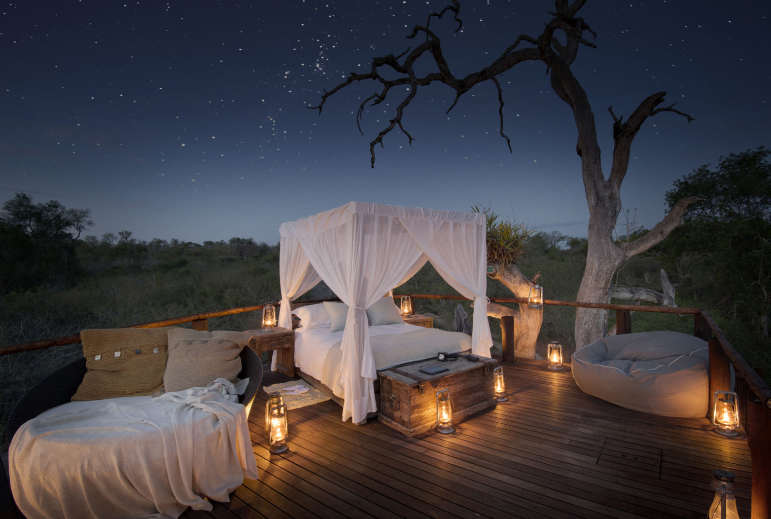 Lion Sands South Africa Outdoor Bed