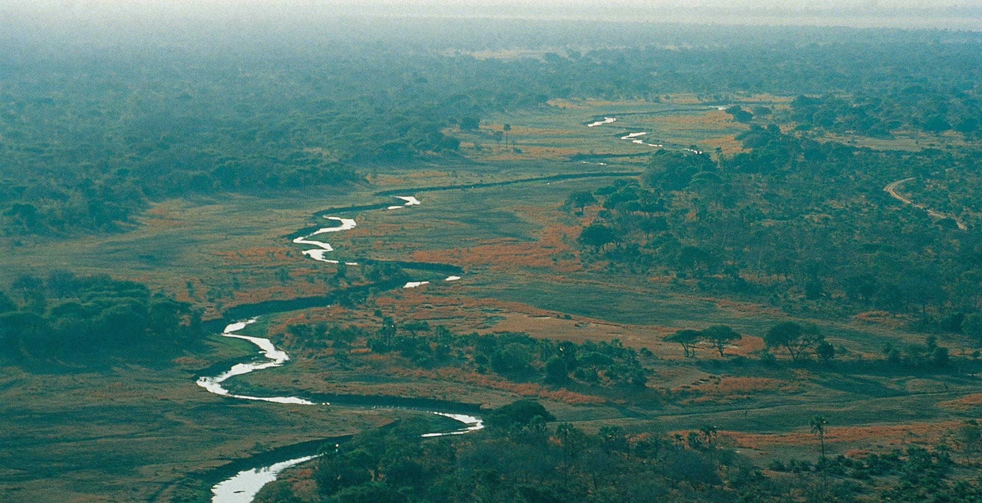 Tanzania-Katavi-Aerial
