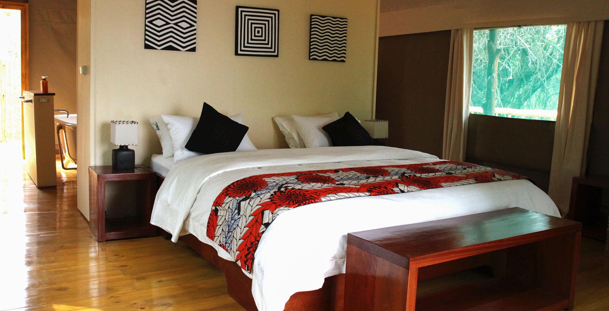 Rwanda-Ruzizi-Tented-Bedroom