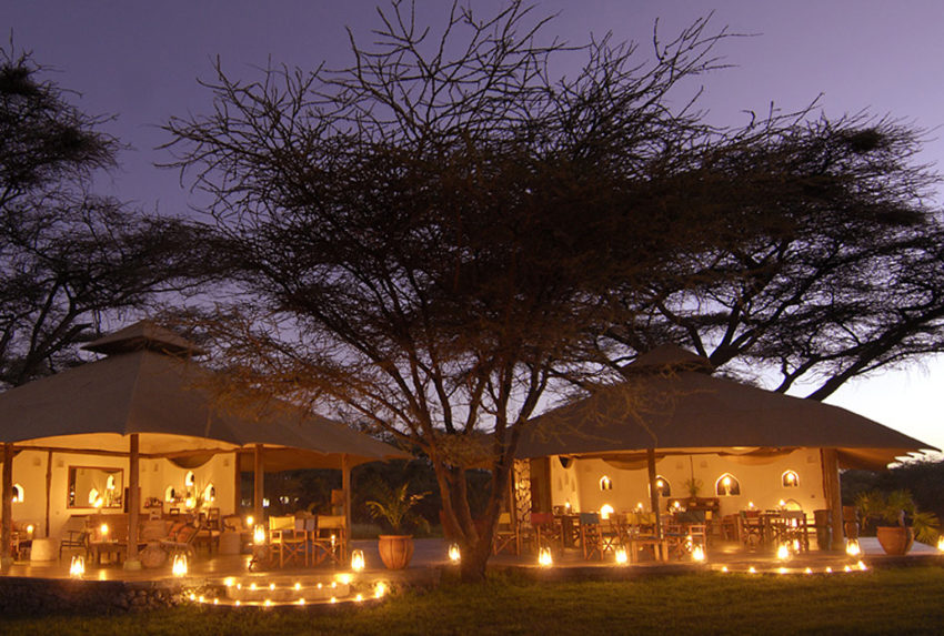 Kenya-Joys-Camp-Exterior-Night