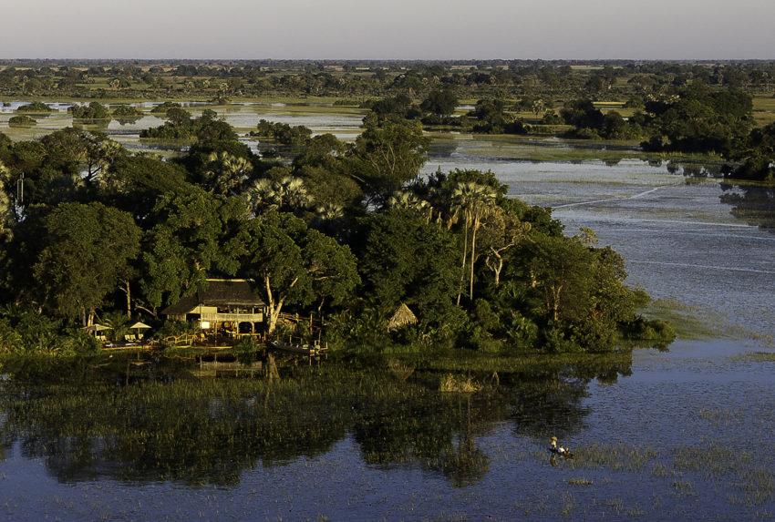 Jacana-Botswana-Aerial