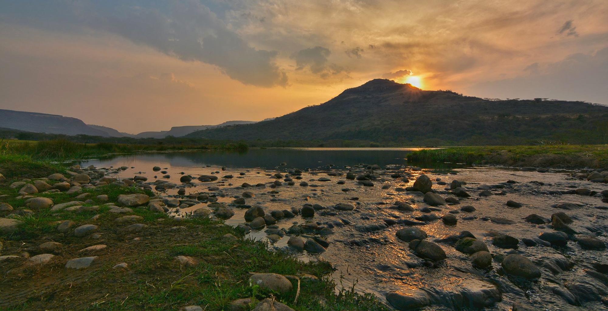 South-Africa-KwaZulu-Natal-River-Sunset
