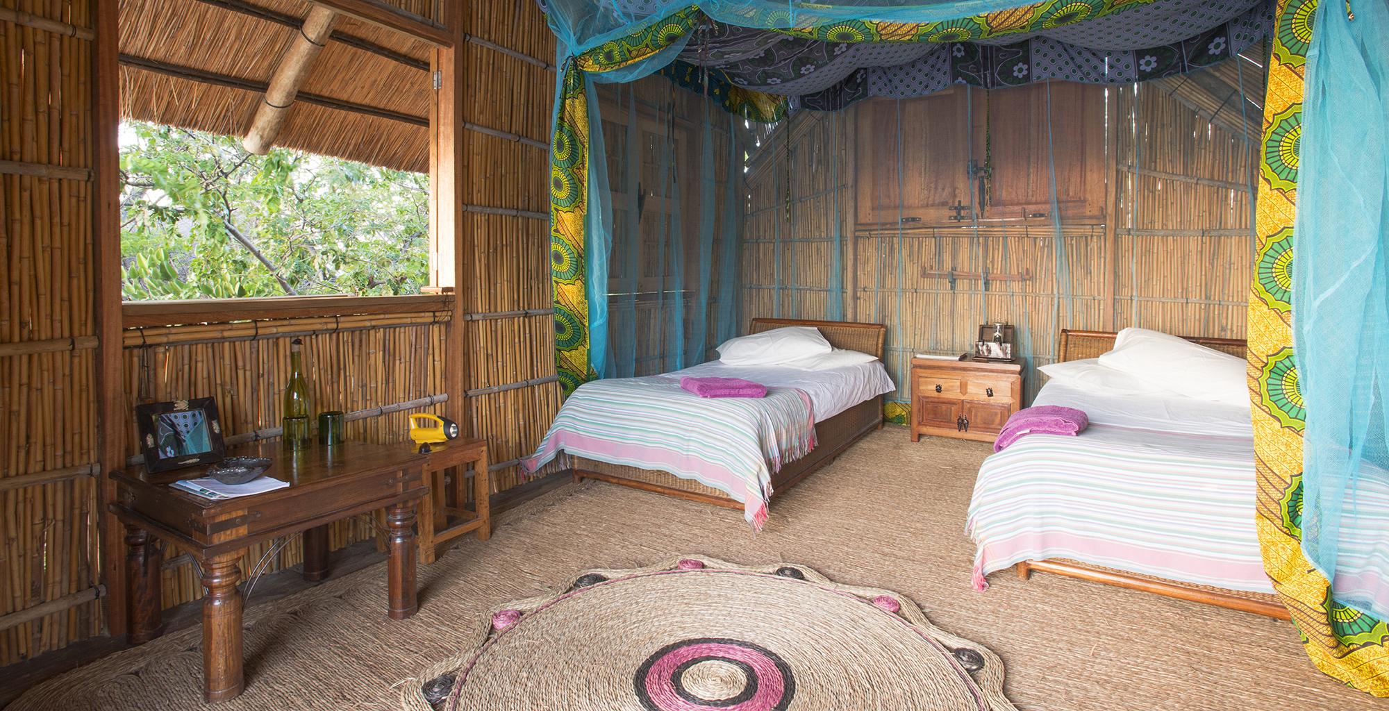 Lake-Malawi-Mumbo-Island-Lodge-Bedroom