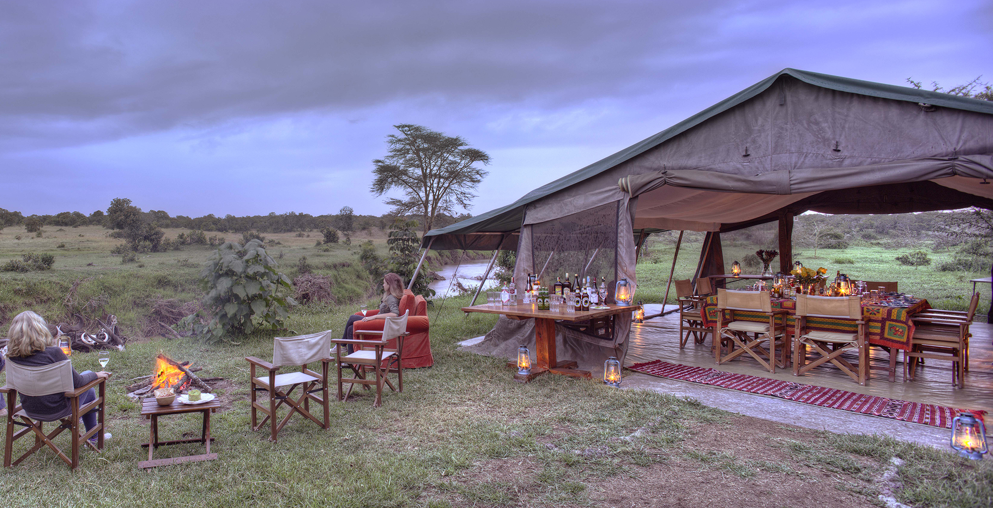 Kenya-Ol-Pejeta-Guest-Area-Campfire