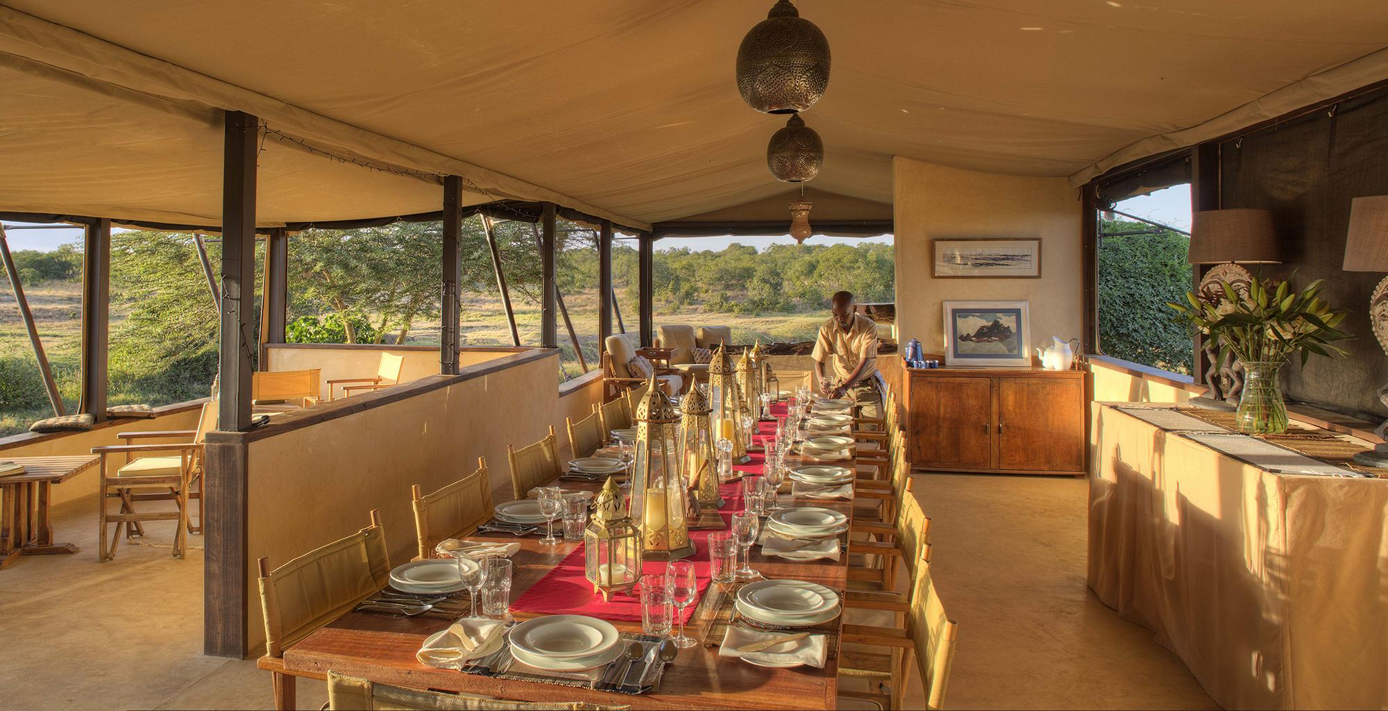 Kenya-Ol-Pejeta-Dining