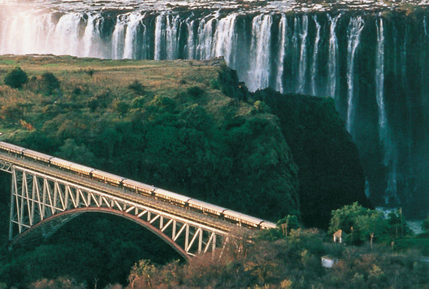 South-Africa-Rovos-Rail-Aerial-Waterfall