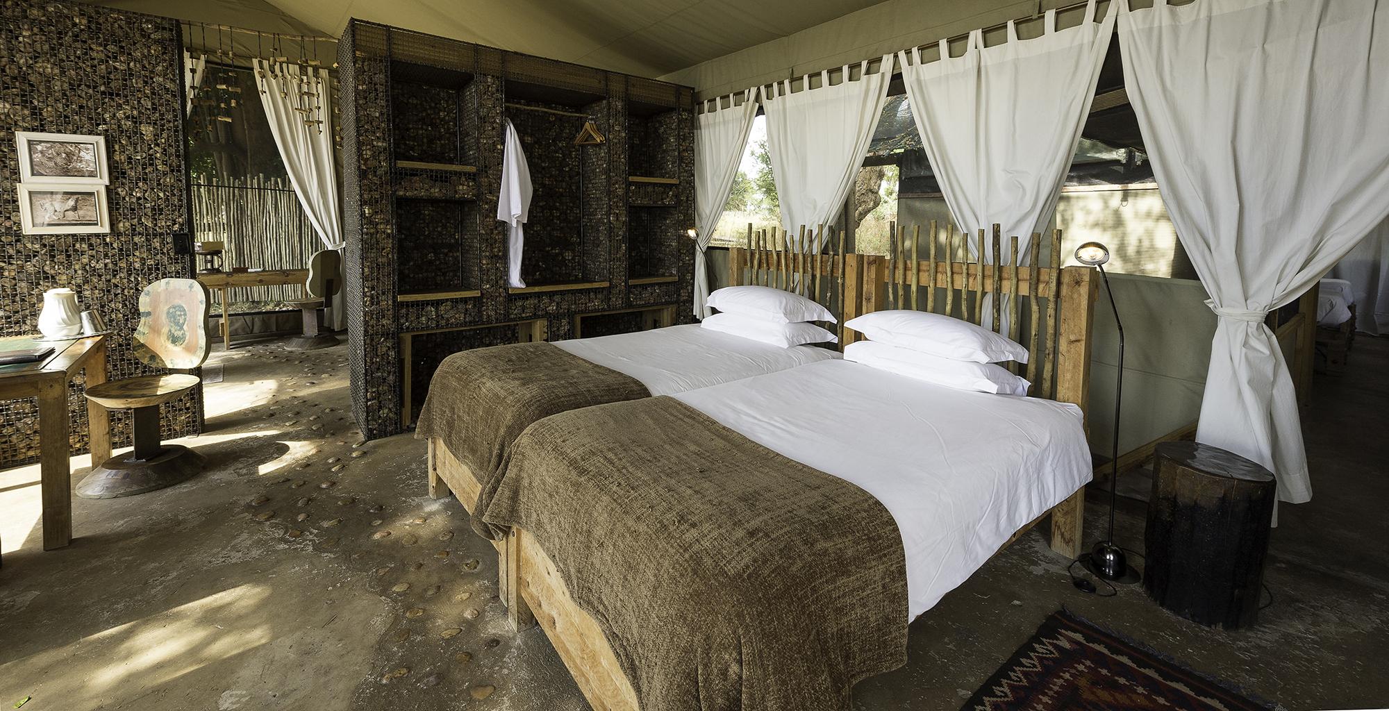 Zimbabwe-Ruckomechi-Bedroom
