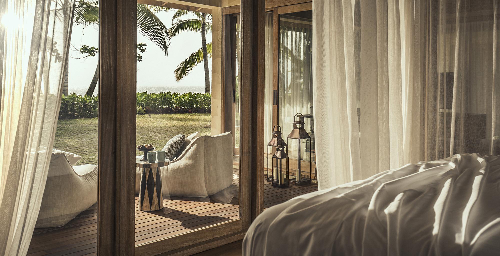Seychelles-Desroches-Island-Resort-Bedroom-Deck