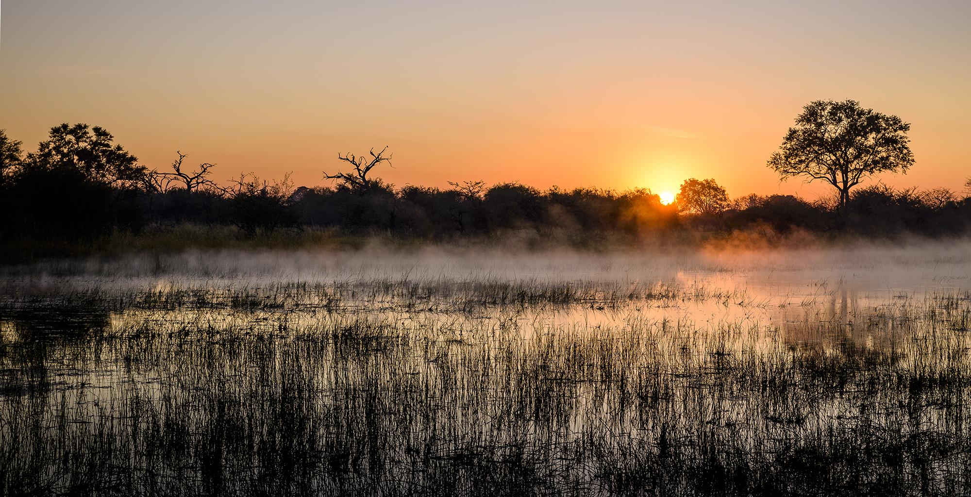 Botswana-Chiefs-Camp-Sunset