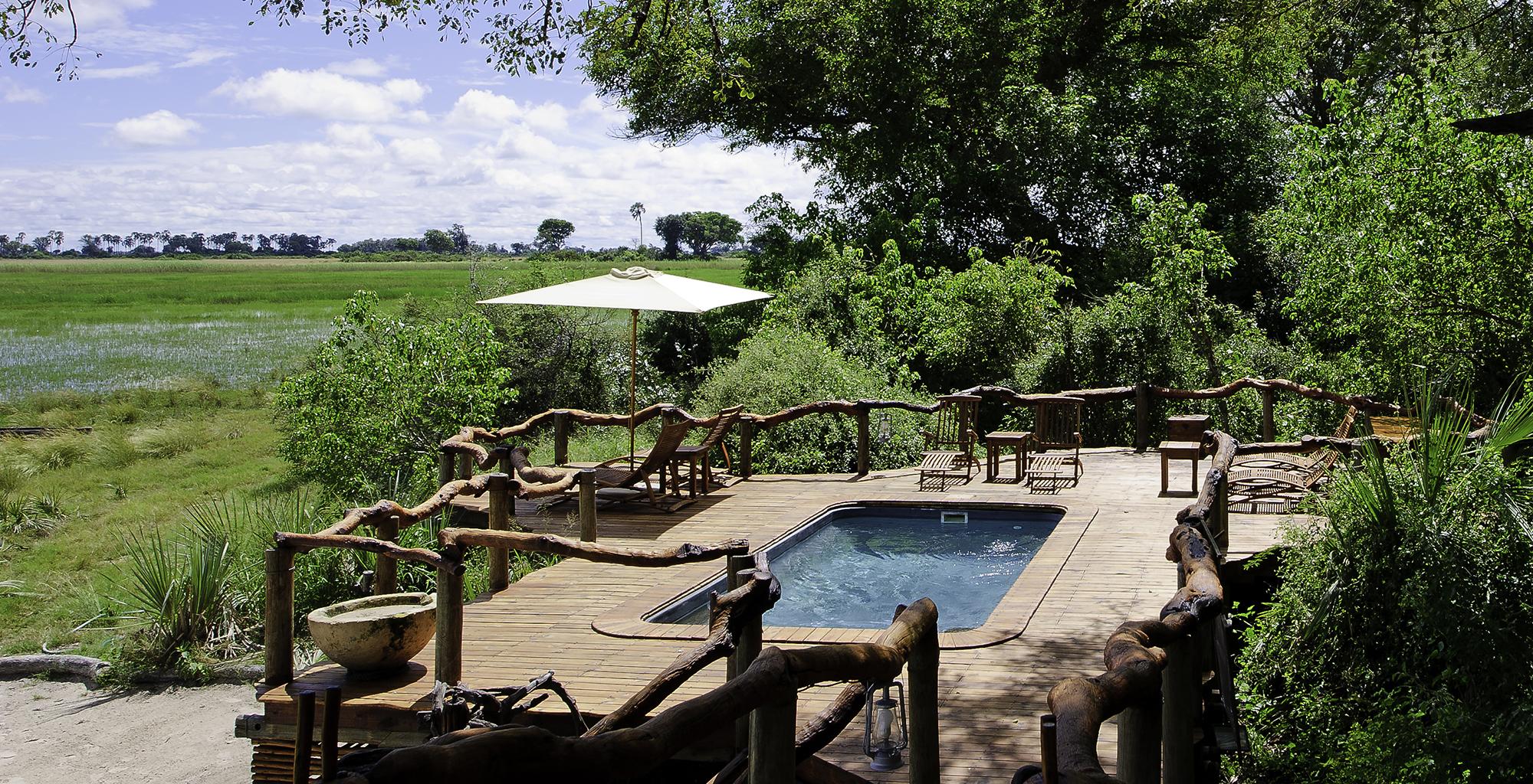 Botswana-Tubu-Tree-Camp-Pool