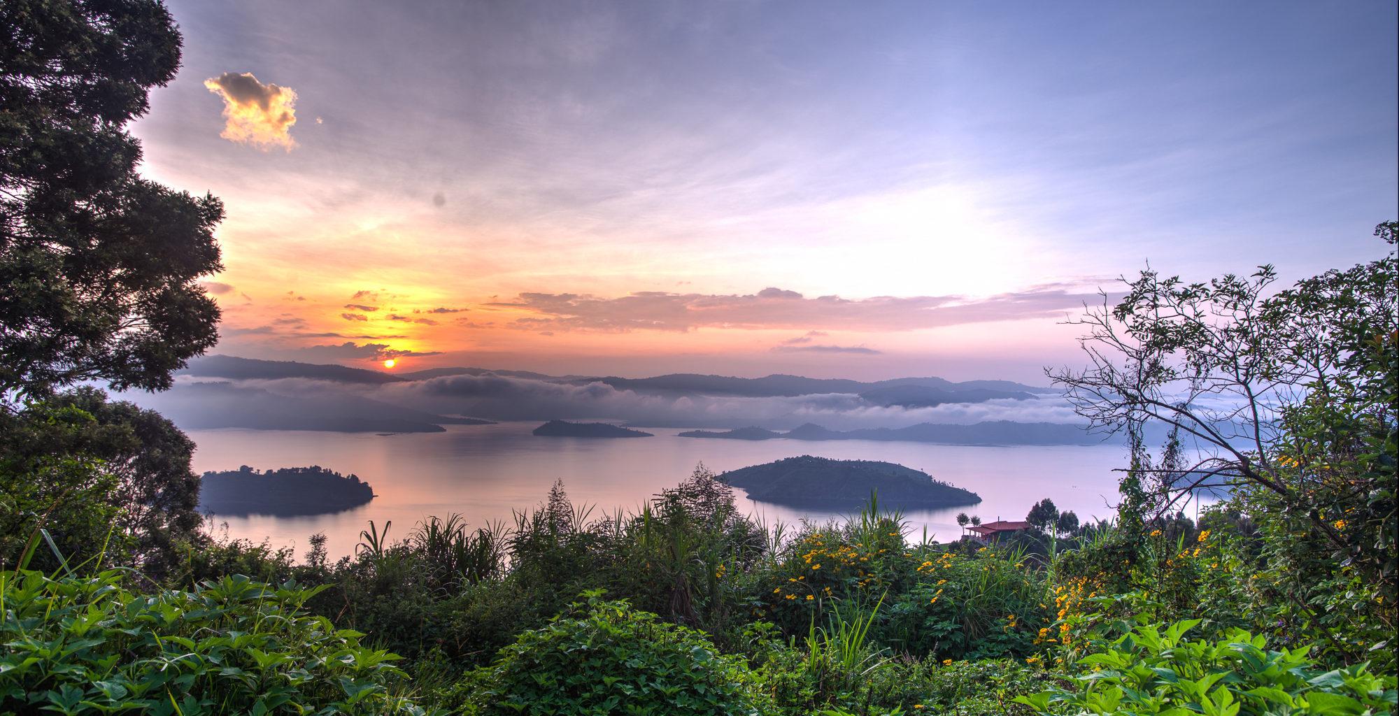 Rwanda-Volcanoes-National-Park-Sunset