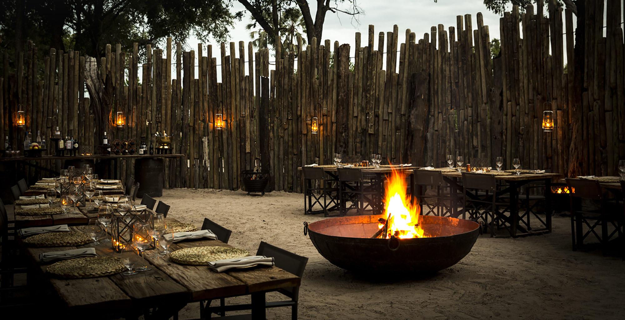 Mombo-Camp-Botswana-Boma-Set