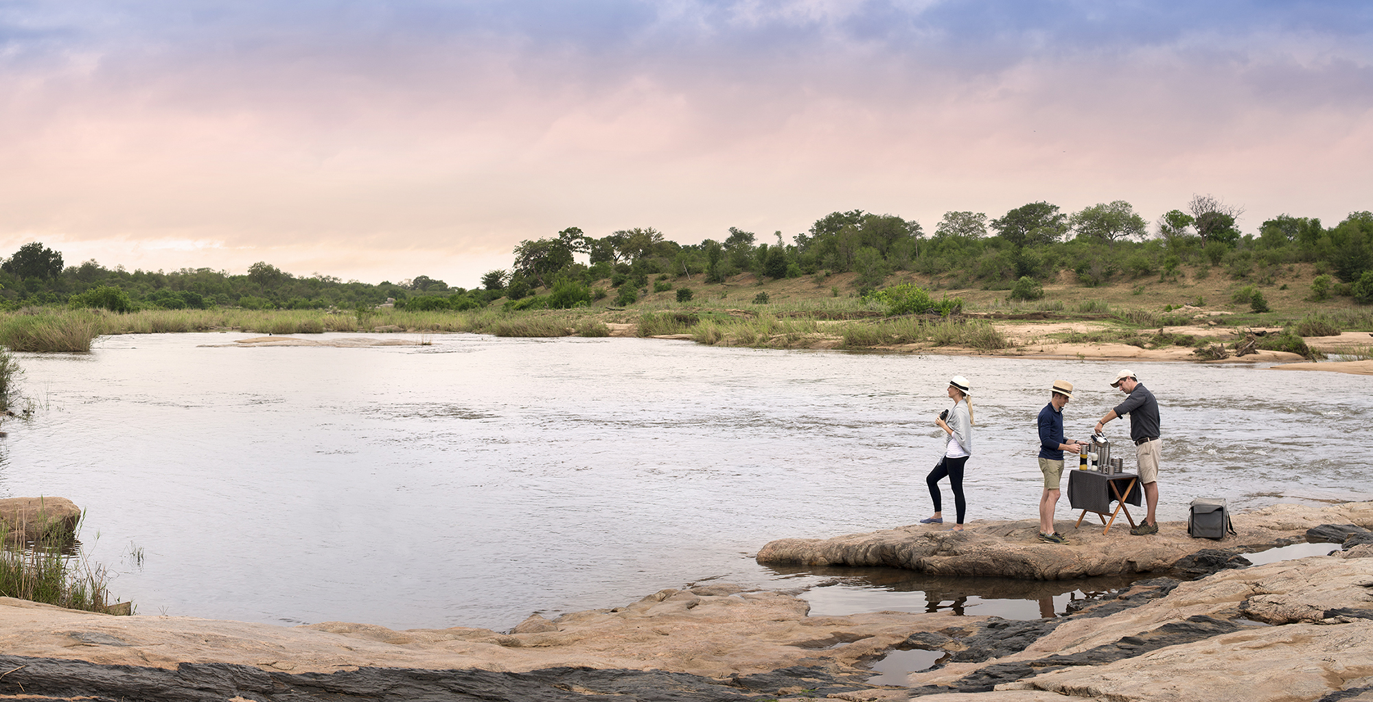 South-Africa-Kruger-National-Park-Riverside-Sundowner