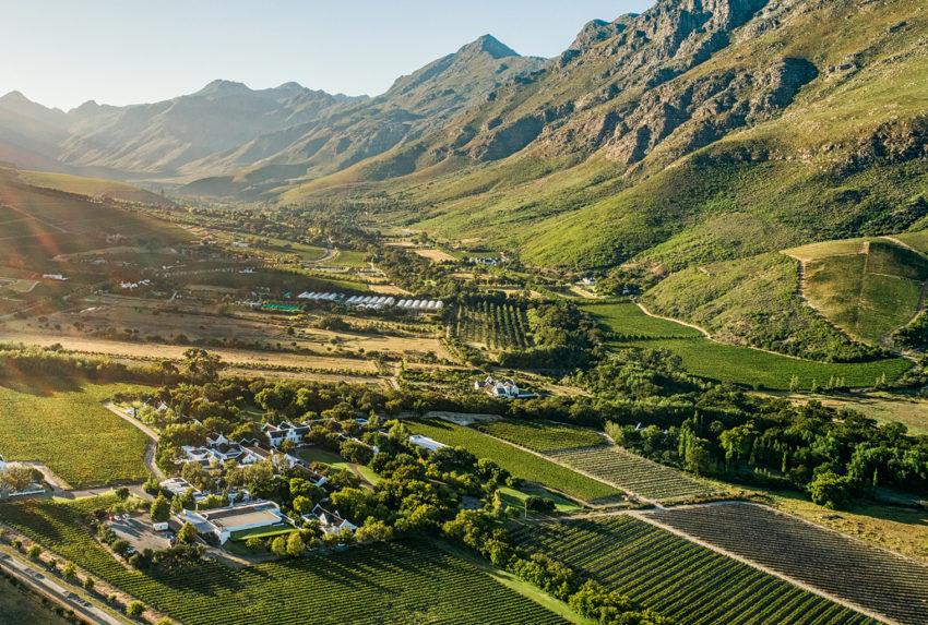 South-Africa-Lanzerac-Aerial
