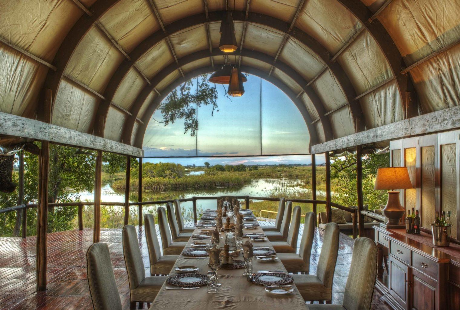 Shinde Botswana Dining