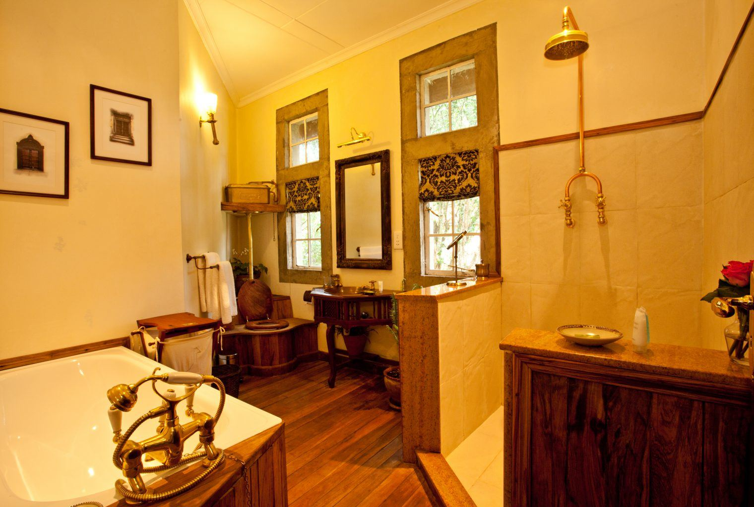 Giraffe manor journeys by design for Bathroom design kenya