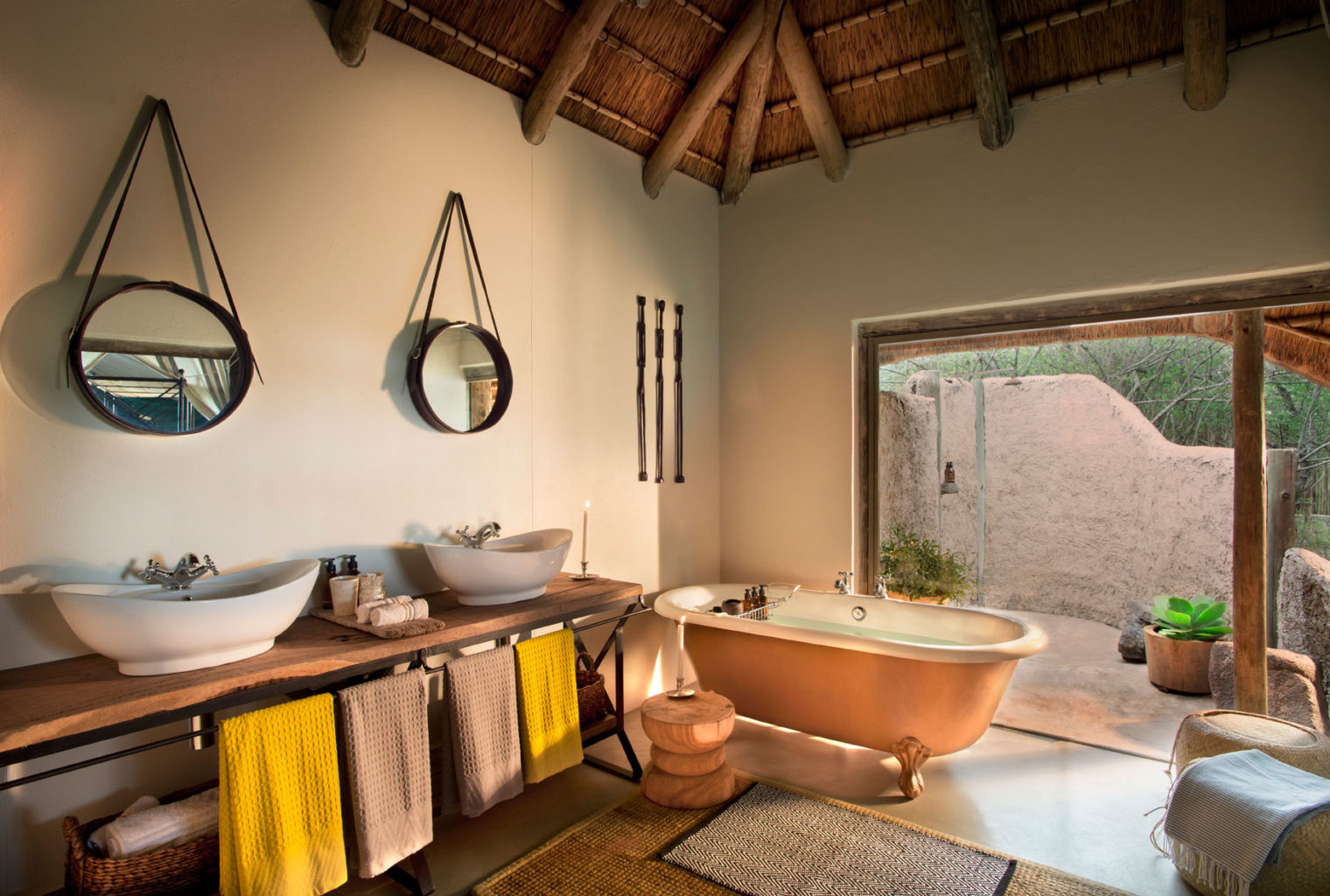 Tanda Tula South Africa Bathroom