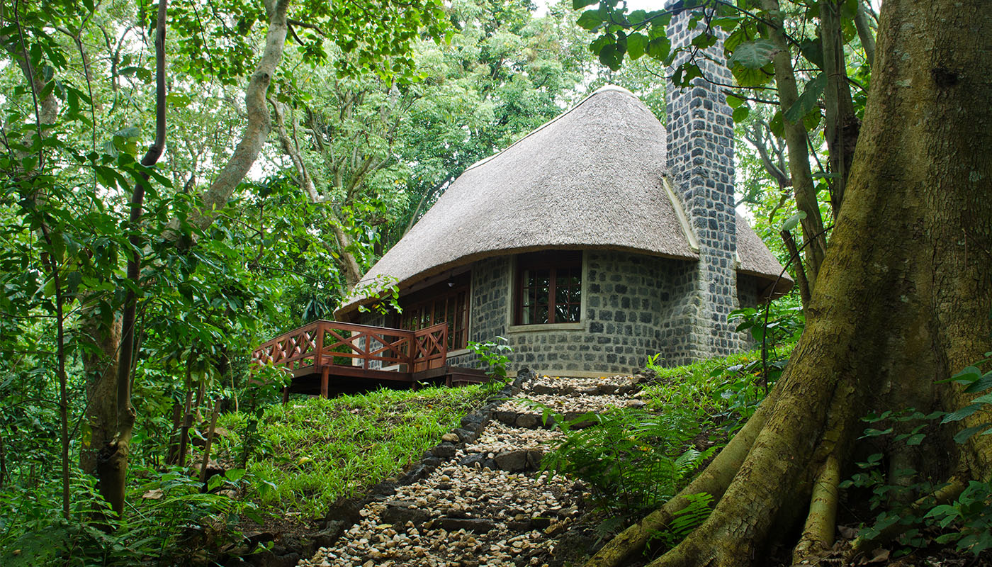 Mikeno Lodge DRC Exterior