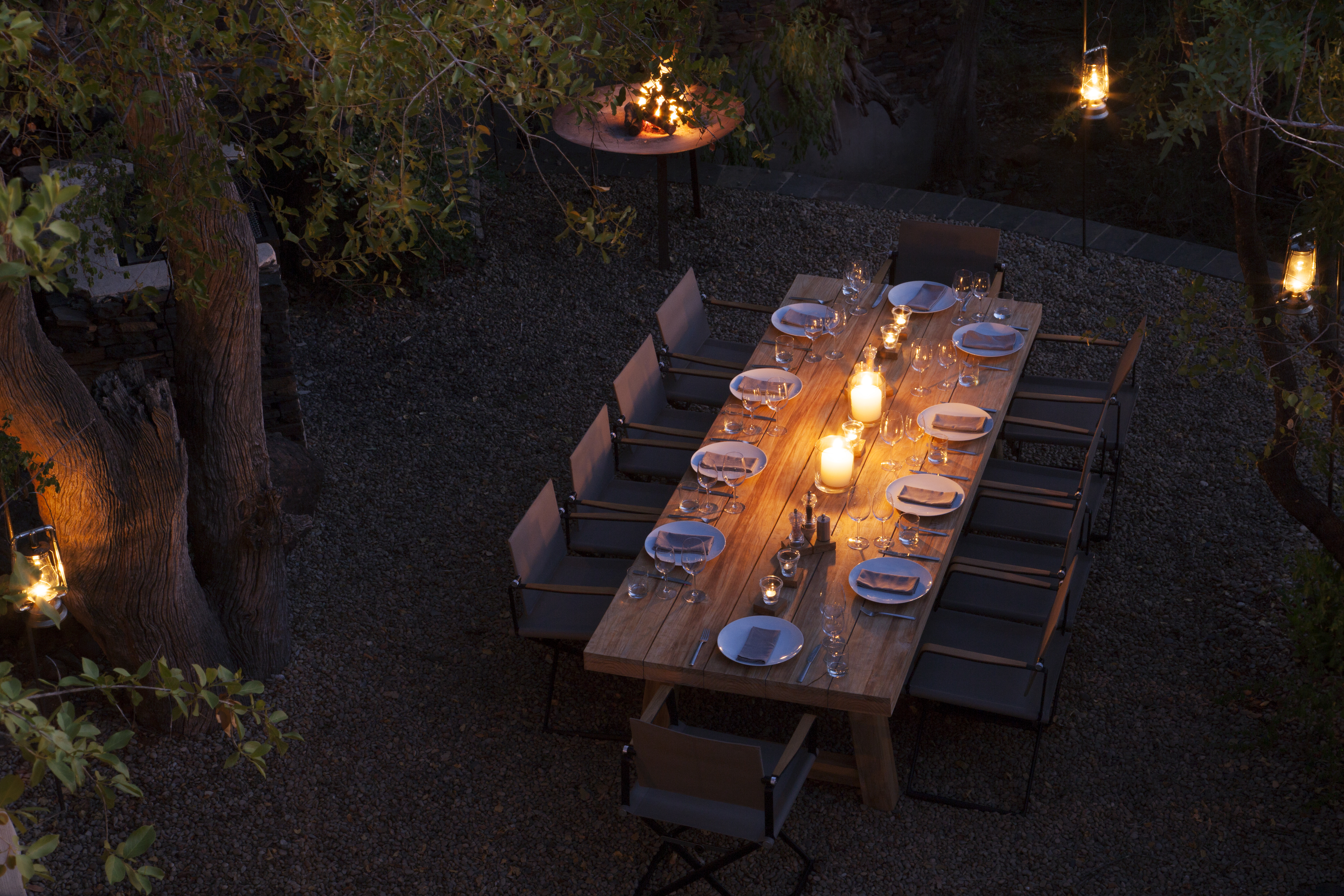 Molori Safari Lodge South Africa Sunset Dining