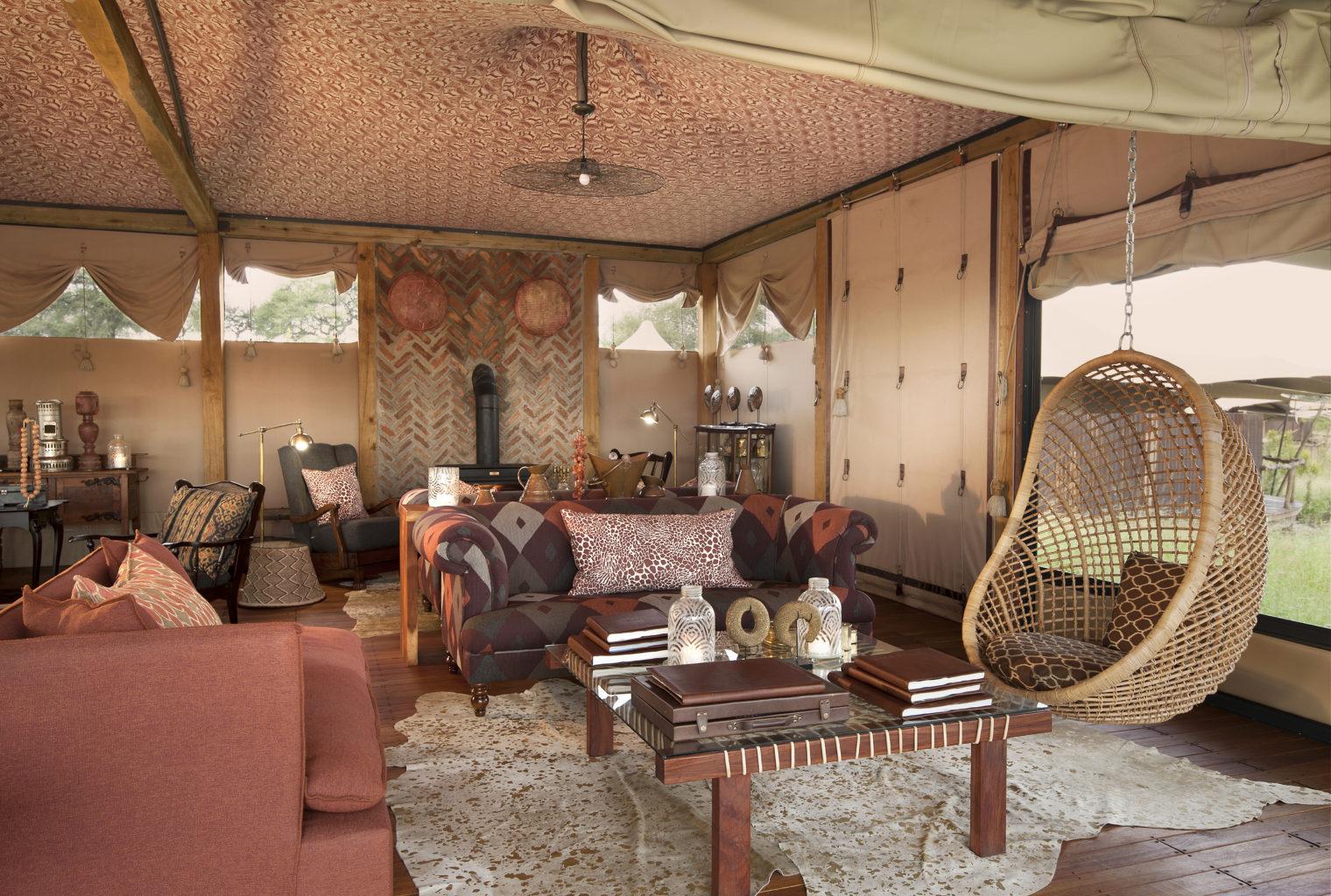 Somalisa Camp Zimbabwe Lounge