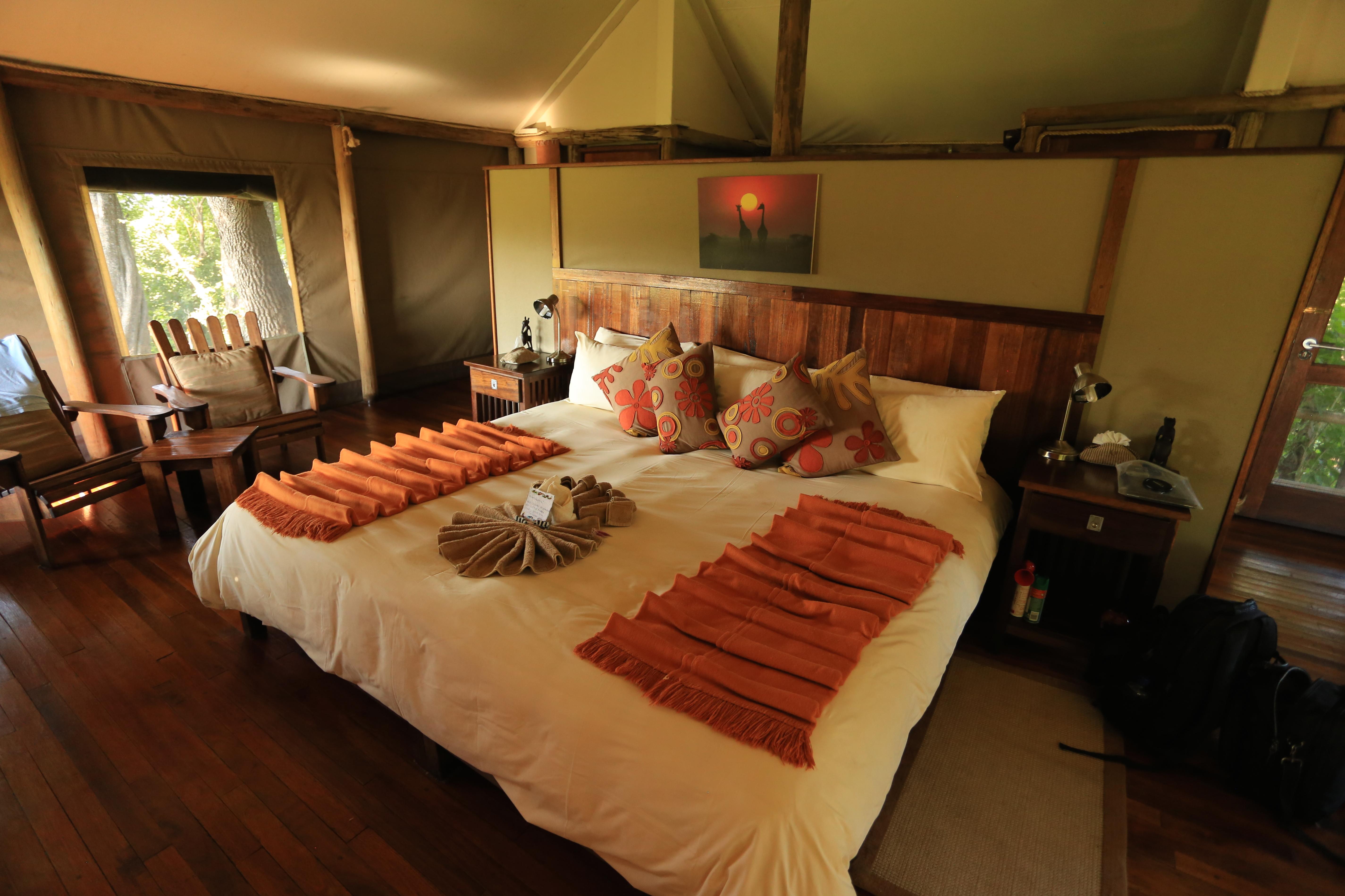 Little Kwara Camp Botswana Bedroom